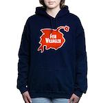 Fish Wrangler - Hate Fish Logo Women's Hooded Swea