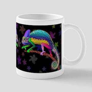 Chameleon Fantasy Rainbow Mugs