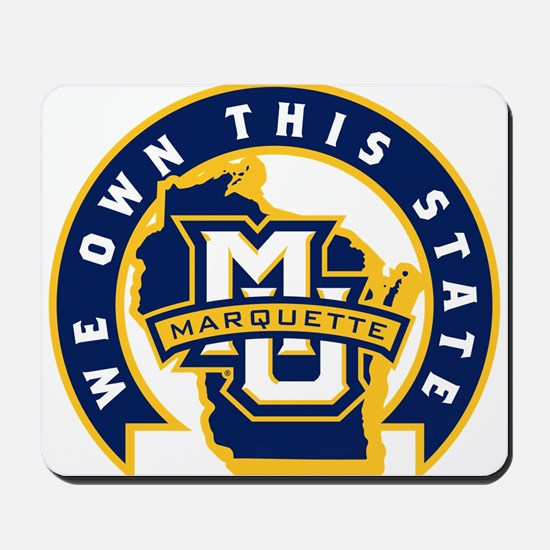 Marquette Golden Eagles We Own This Stat Mousepad