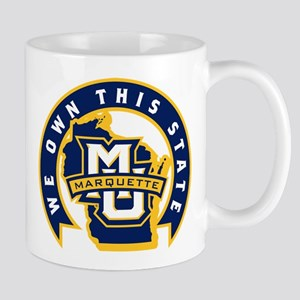 Marquette Golden Eagles We Own T 11 oz Ceramic Mug