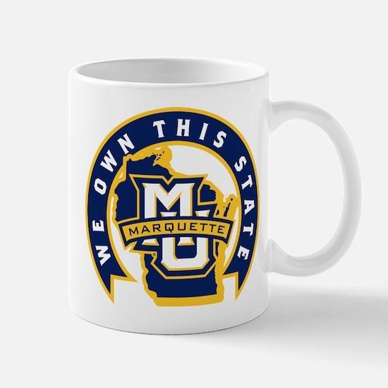 Marquette Golden Eagles We Own T Mug