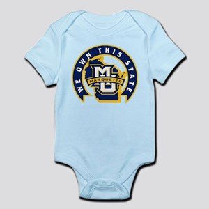 Marquette Golden Eagles We Own Baby Light Bodysuit