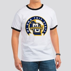 Marquette Golden Eagles We Own This State Ringer T