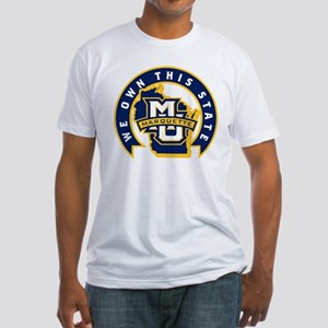 Marquette Golden Eagles We Own This Fitted T-Shirt