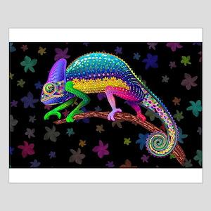 Chameleon Fantasy Rainbow Posters