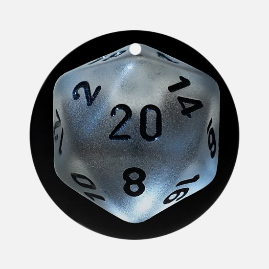 D20 Ornament (round)