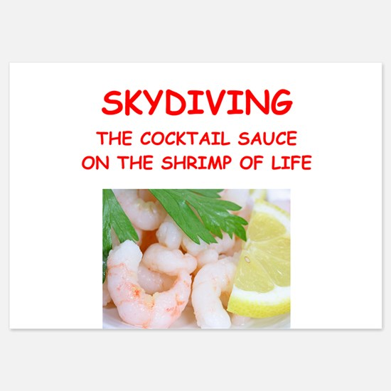 sky diving Invitations
