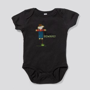 Crows Beware! Baby Bodysuit