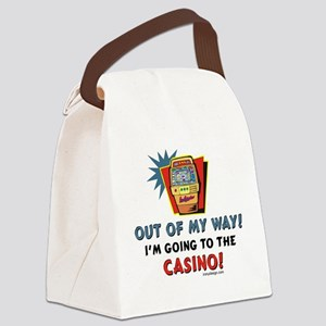 Out of My Way Casino! Canvas Lunch Bag