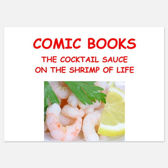 comic books Invitations