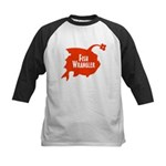 Fish Wrangler - Hate Fish Kids Baseball Jersey