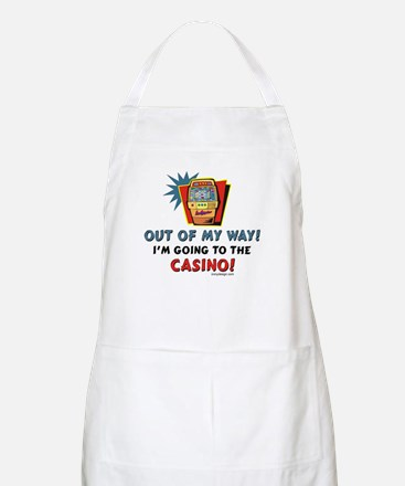 Out of My Way Casino! Apron