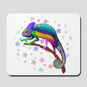 Chameleon Fantasy Rainbow Mousepad