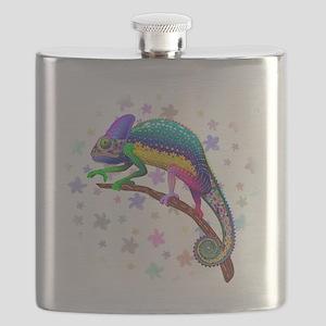 Chameleon Fantasy Rainbow Flask