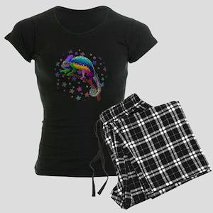 Chameleon Fantasy Rainbow Pajamas