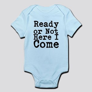 Ready or Not Here I Come Body Suit