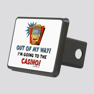 Out of My Way Casino! Rectangular Hitch Cover