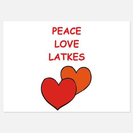 latkes Invitations