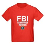 FBI Terrorist Hunter Kids Dark T-Shirt