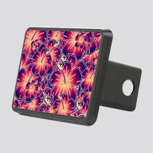 Purple hibiscus Hitch Cover