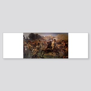 washington at monmouth Sticker (Bumper)