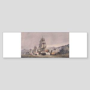 valcour island Sticker (Bumper)