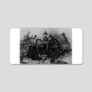 molly pitcher Aluminum License Plate