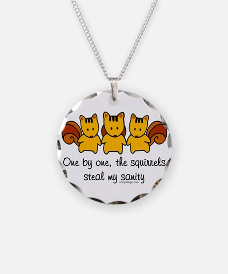 One by One The Squirrels Necklace