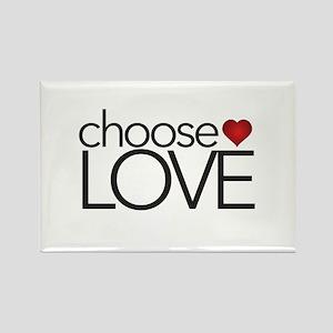 Choose Love - Rectangle Magnets