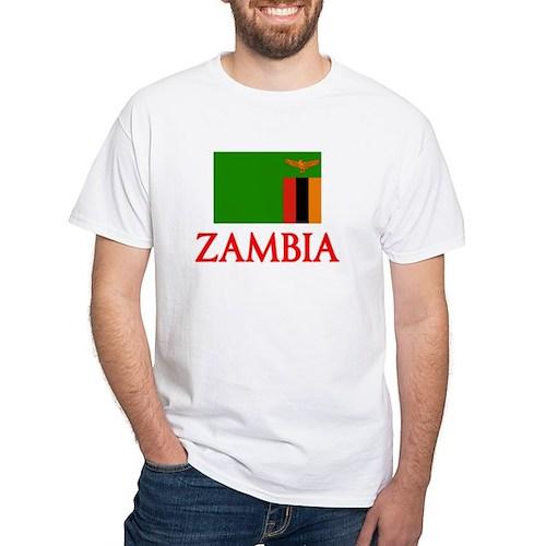 Zambia Flag Design T-Shirt