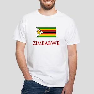Zimbabwe Flag Design T-Shirt