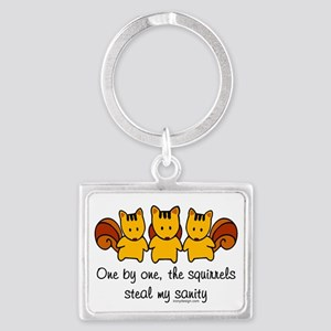 One by One The Squirrels Keychains