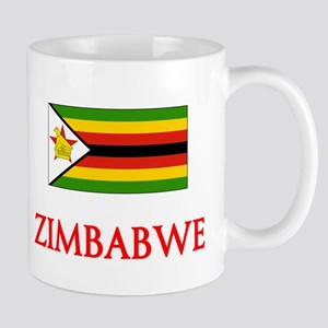Zimbabwe Flag Design Mugs