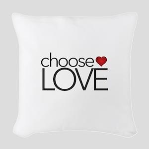 Choose Love - Woven Throw Pillow