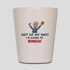 Bingo!! Shot Glass