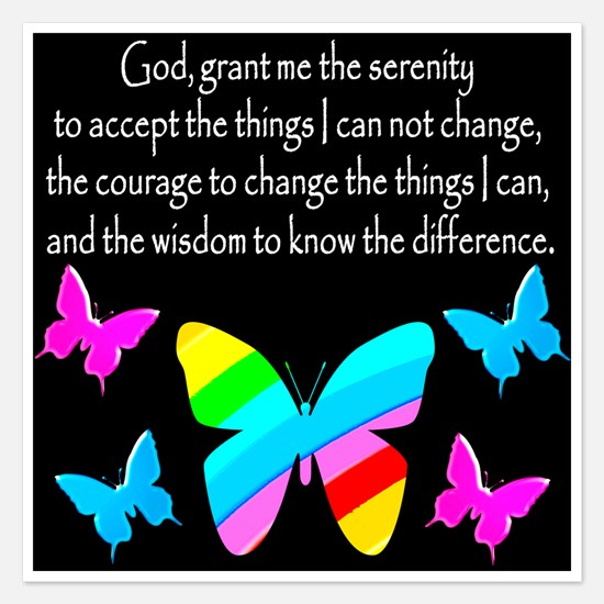 GOD IS SERENITY Invitations