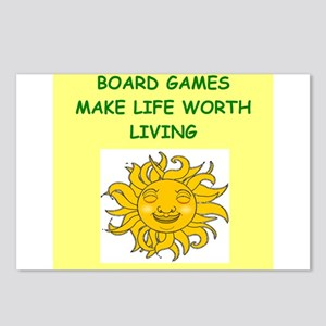 games Postcards (Package of 8)