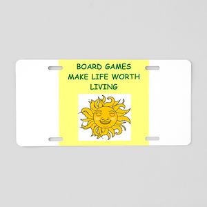games Aluminum License Plate