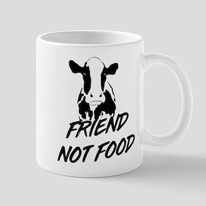 Cow friend not food Mugs