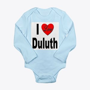 I Love Duluth Infant Bodysuit Body Suit