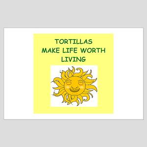 tortillas Large Poster