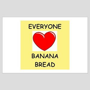 banana bread Large Poster