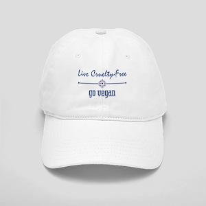 Live Cruelty Free, Go Vegan Cap