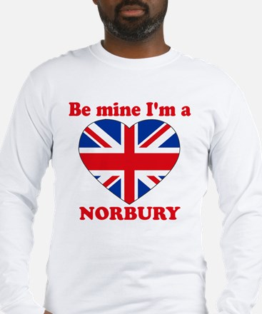 Norbury, Valentine's Day Long Sleeve T-Shirt