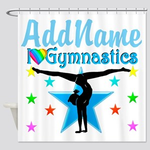 GYMNAST POWER Shower Curtain