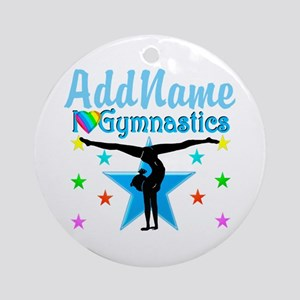 GYMNAST POWER Ornament (Round)