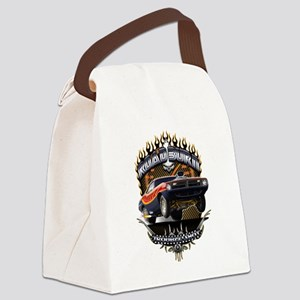 Muscle Car - Barracuda Road Burn Canvas Lunch Bag