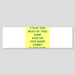 221b baker street Sticker (Bumper)