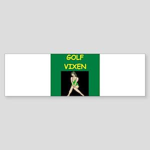 golf Sticker (Bumper)