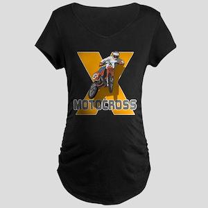 Extreme Motocross Maternity Dark T-Shirt